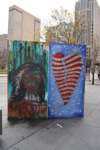Artists: Andrea Johnson and Donna Alena Hrabcakova
